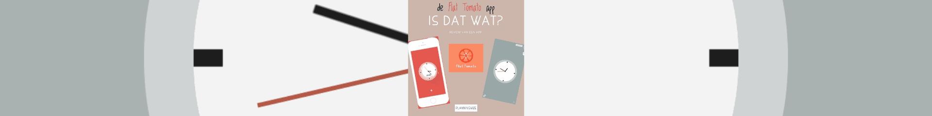 De Flat Tomato App, is dat wat?