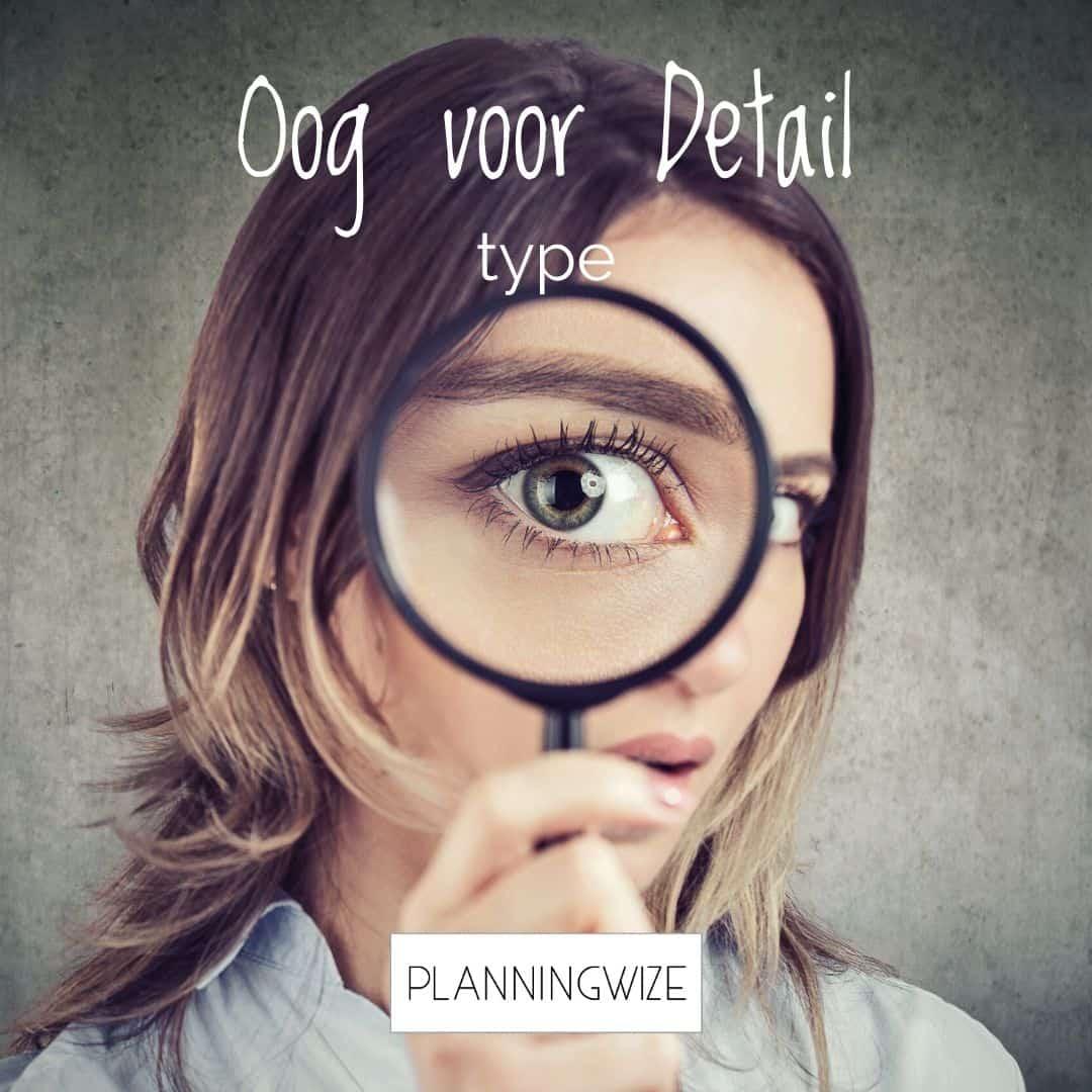 typ voor plantype oog-voor-detail